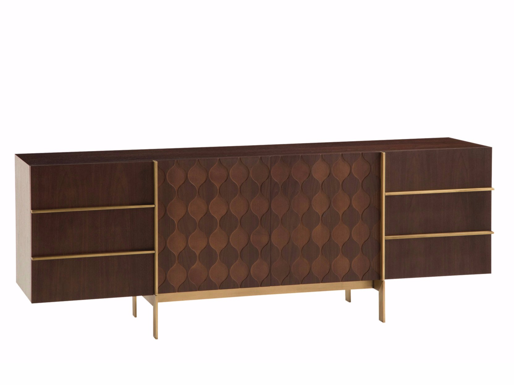 trocadero sideboard with doors trocadero collection by roche bobois design pierre dubois. Black Bedroom Furniture Sets. Home Design Ideas