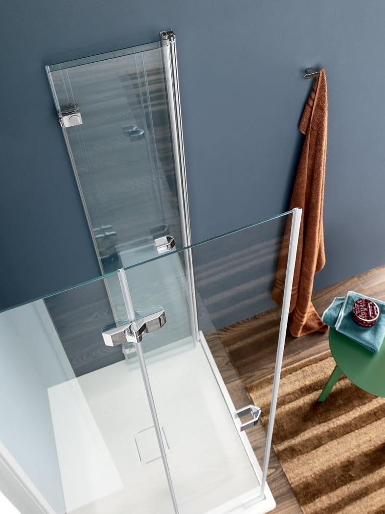 Box doccia in vetro con porta a soffietto sim 1 - Porta a soffietto in vetro ...