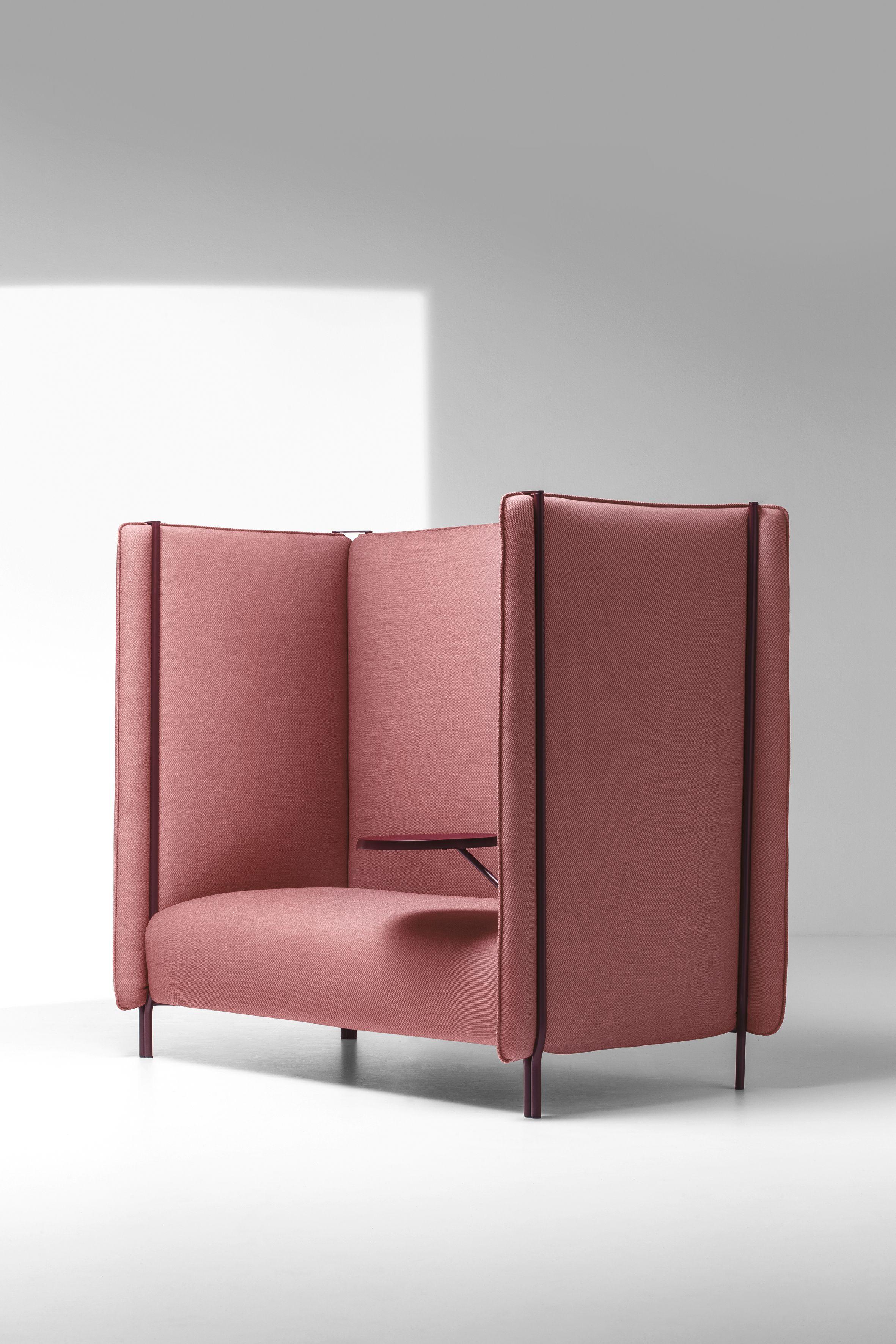 Pinch divano con schienale alto collezione pinch by la cividina design skrivo - Divano schienale alto ...