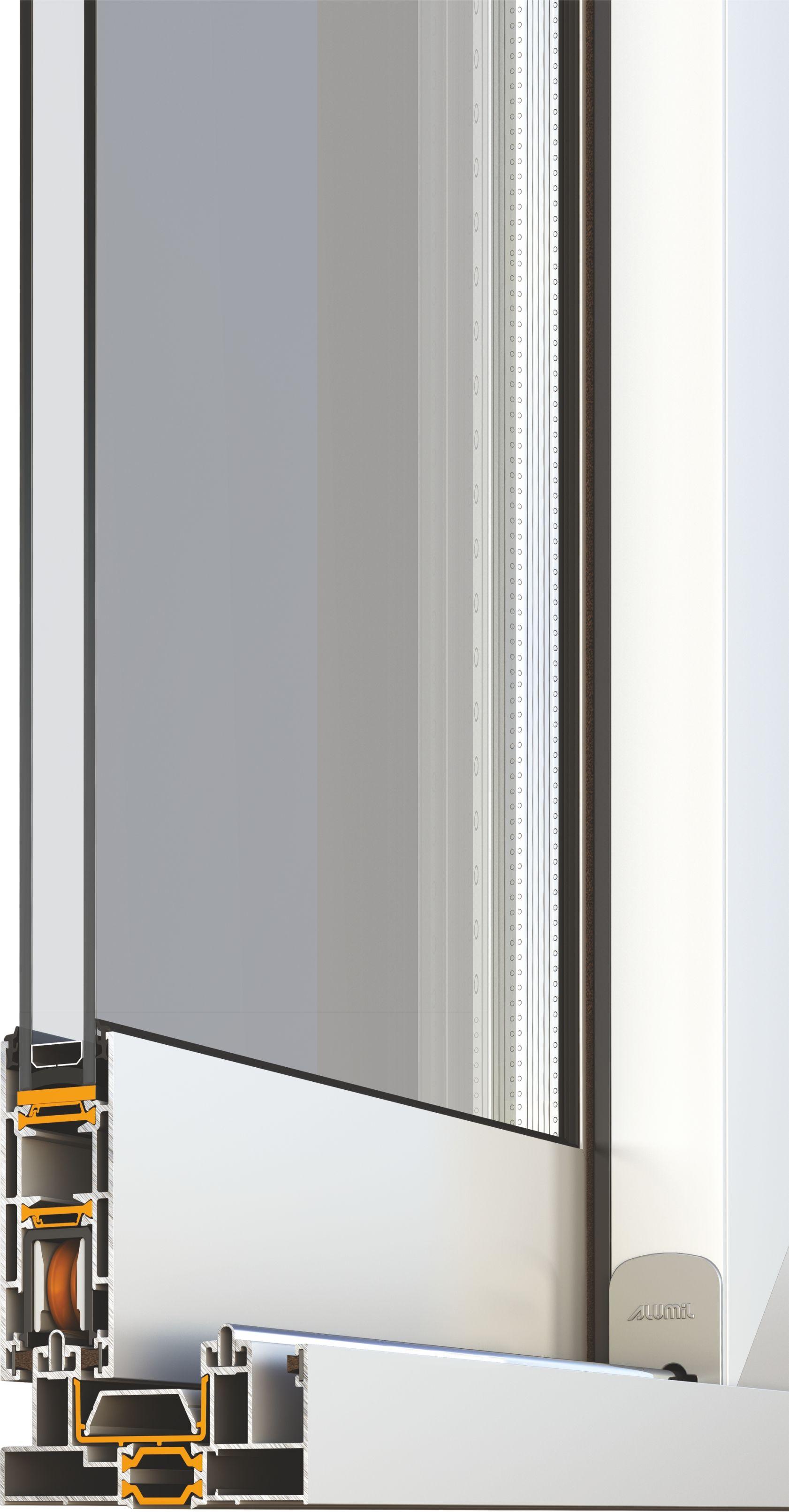 Porta finestra scorrevole smartia s350 collezione smartia - Porta finestra scorrevole esterna ...