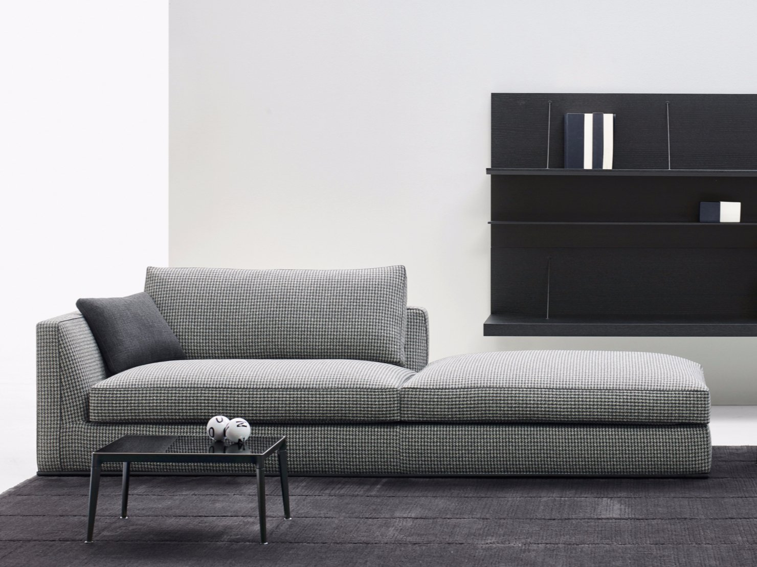 sofa aus stoff kollektion richard by b b italia design antonio citterio. Black Bedroom Furniture Sets. Home Design Ideas