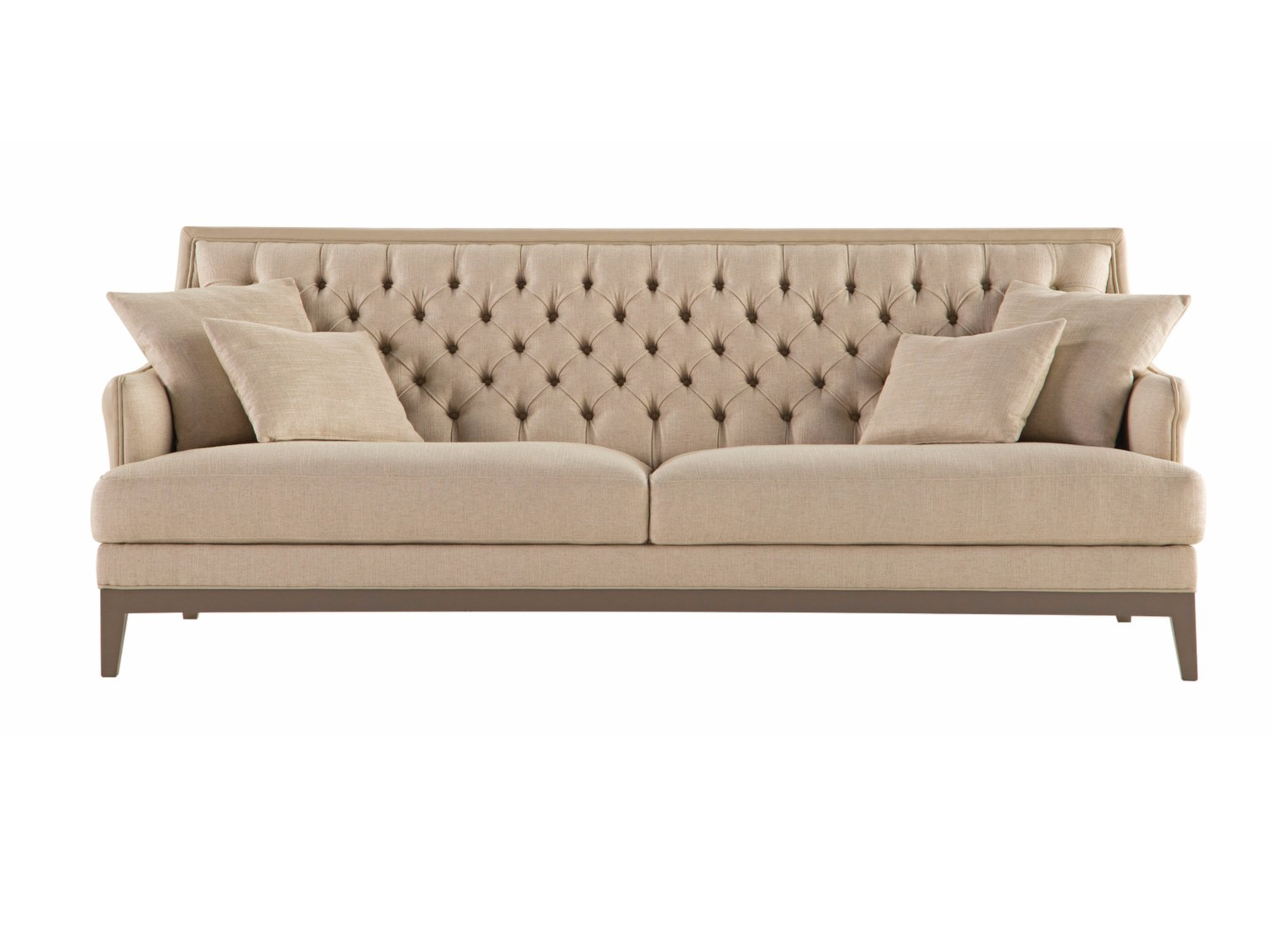 Epoq canap collection epoq by roche bobois design les - Canape capitonne cuir ...