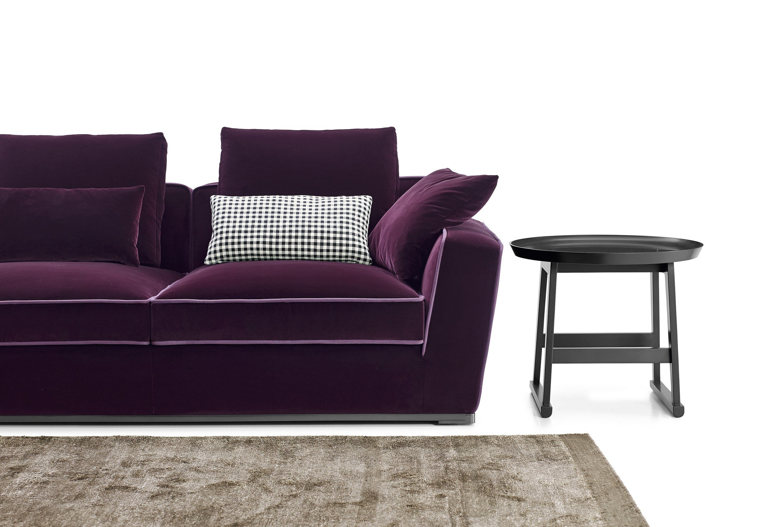 Solatium sofa with chaise longue solatium collection by for B b italia maxalto sofa