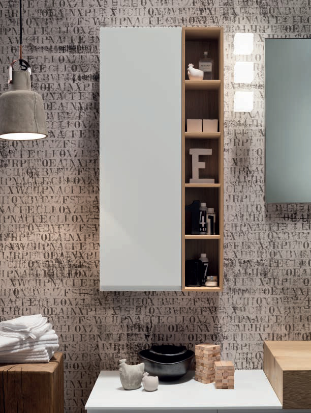 Mueble de ba o mueble bajo lavabo de roble soul - Mueble bano bajo lavabo ...