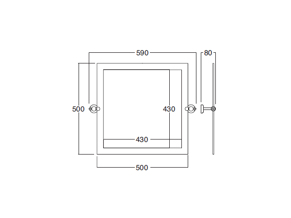 Bathroom Mirror Dimensions circle | square mirror circle collectionbath&bath