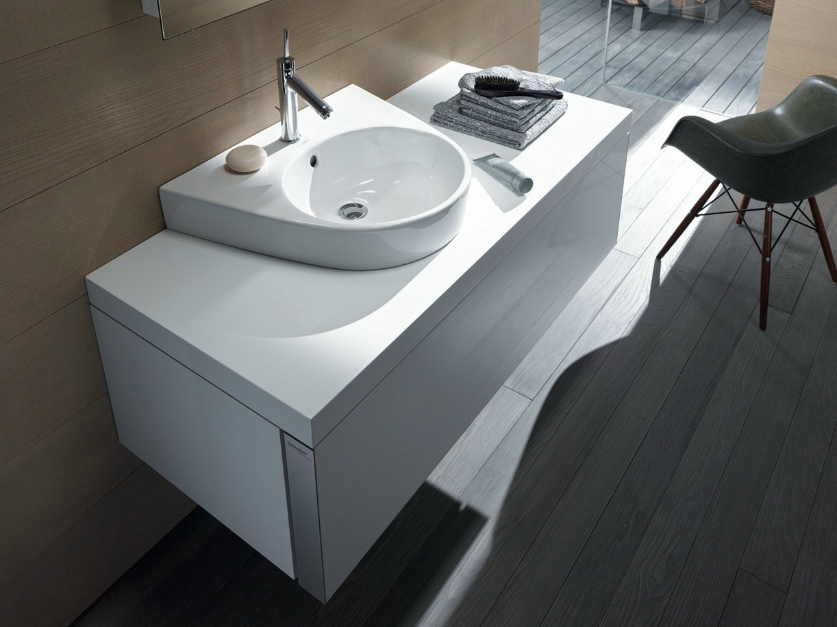 starck 2 lavabo da appoggio collezione starck 2 by duravit. Black Bedroom Furniture Sets. Home Design Ideas