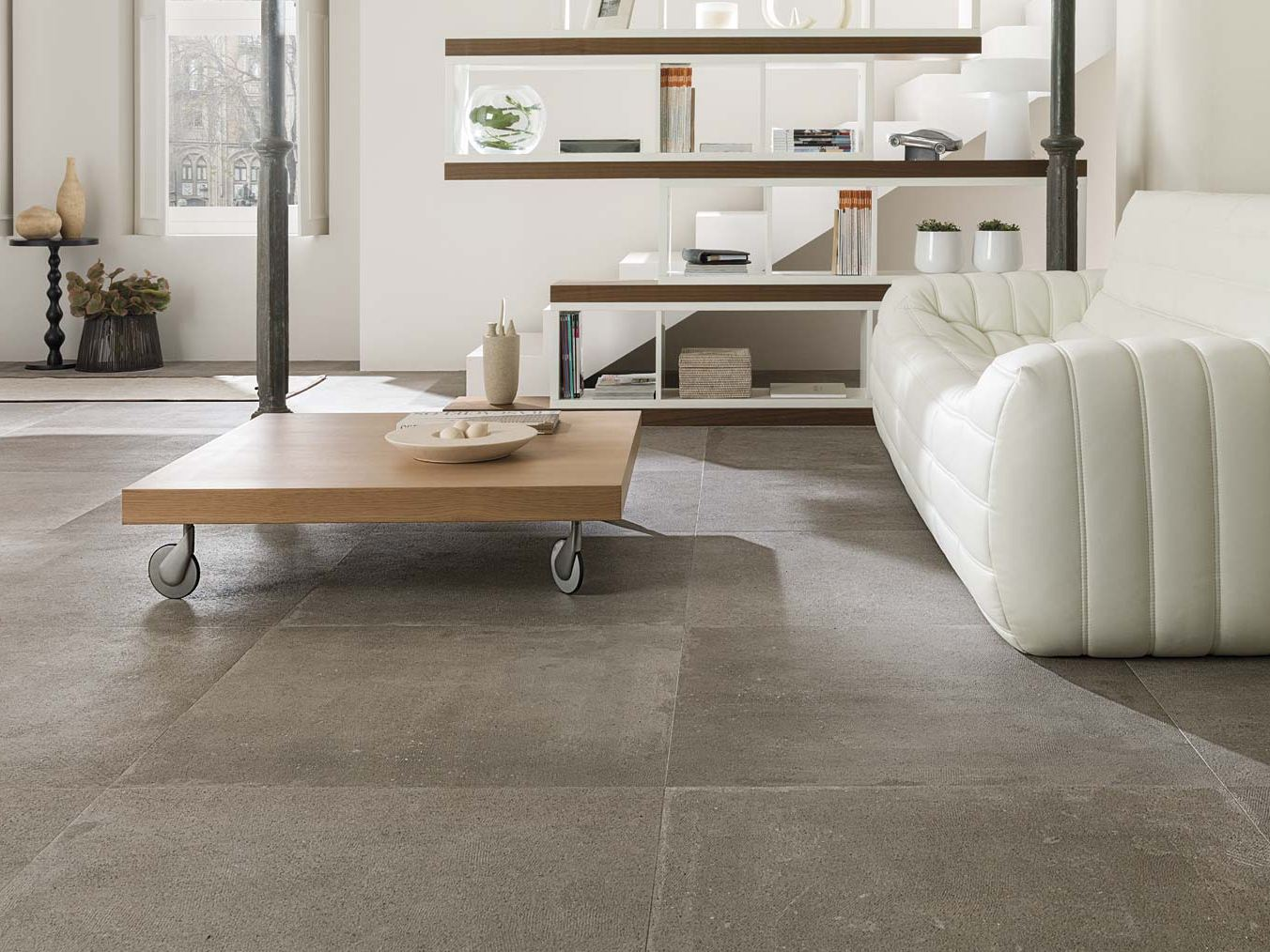 Rev tement de sol mur ston ker dover collection ston for Porcelanosa carrelage sol
