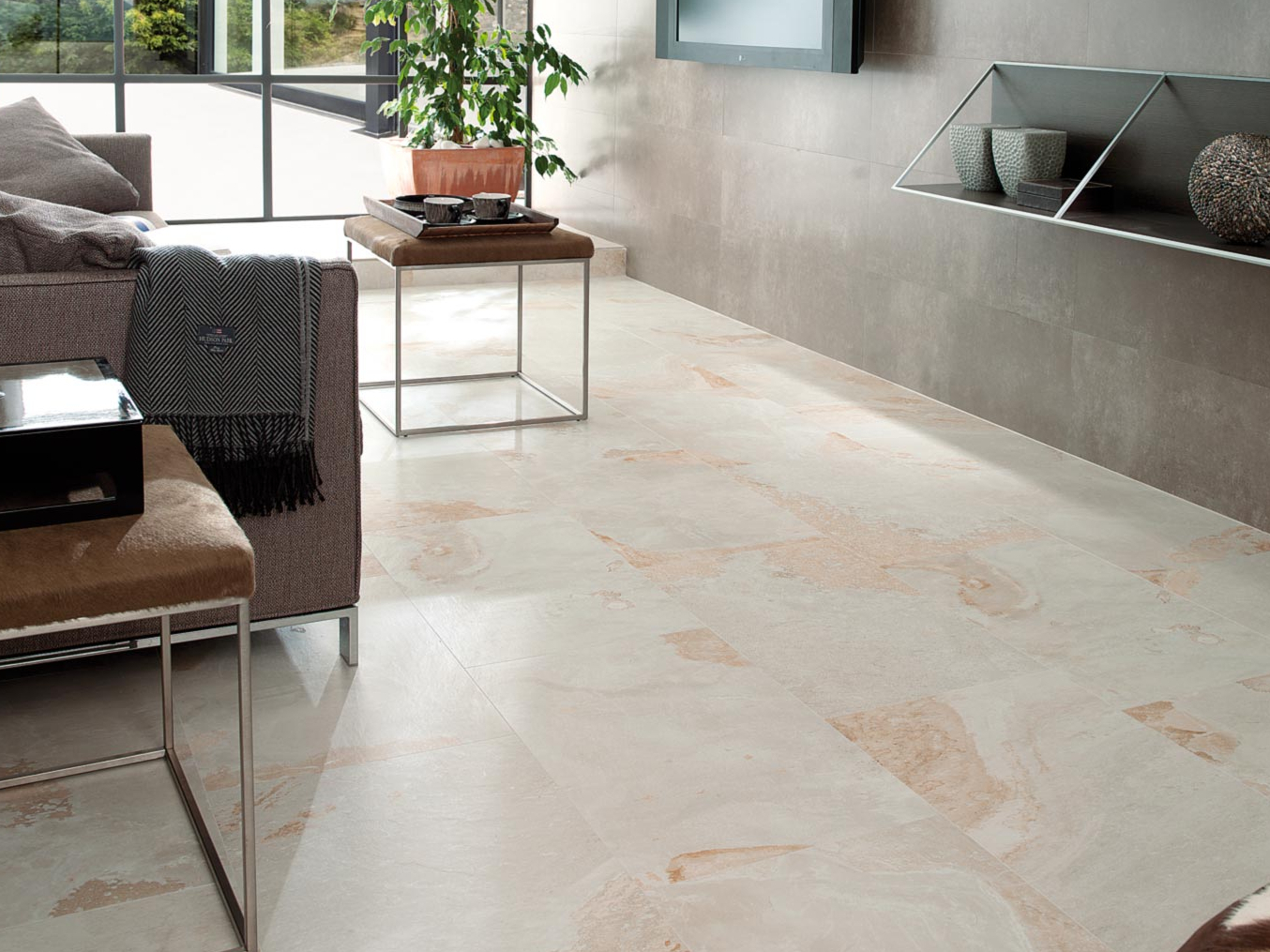 Wall floor tiles ston ker tibet ston ker collection by - Ston ker porcelanosa ...