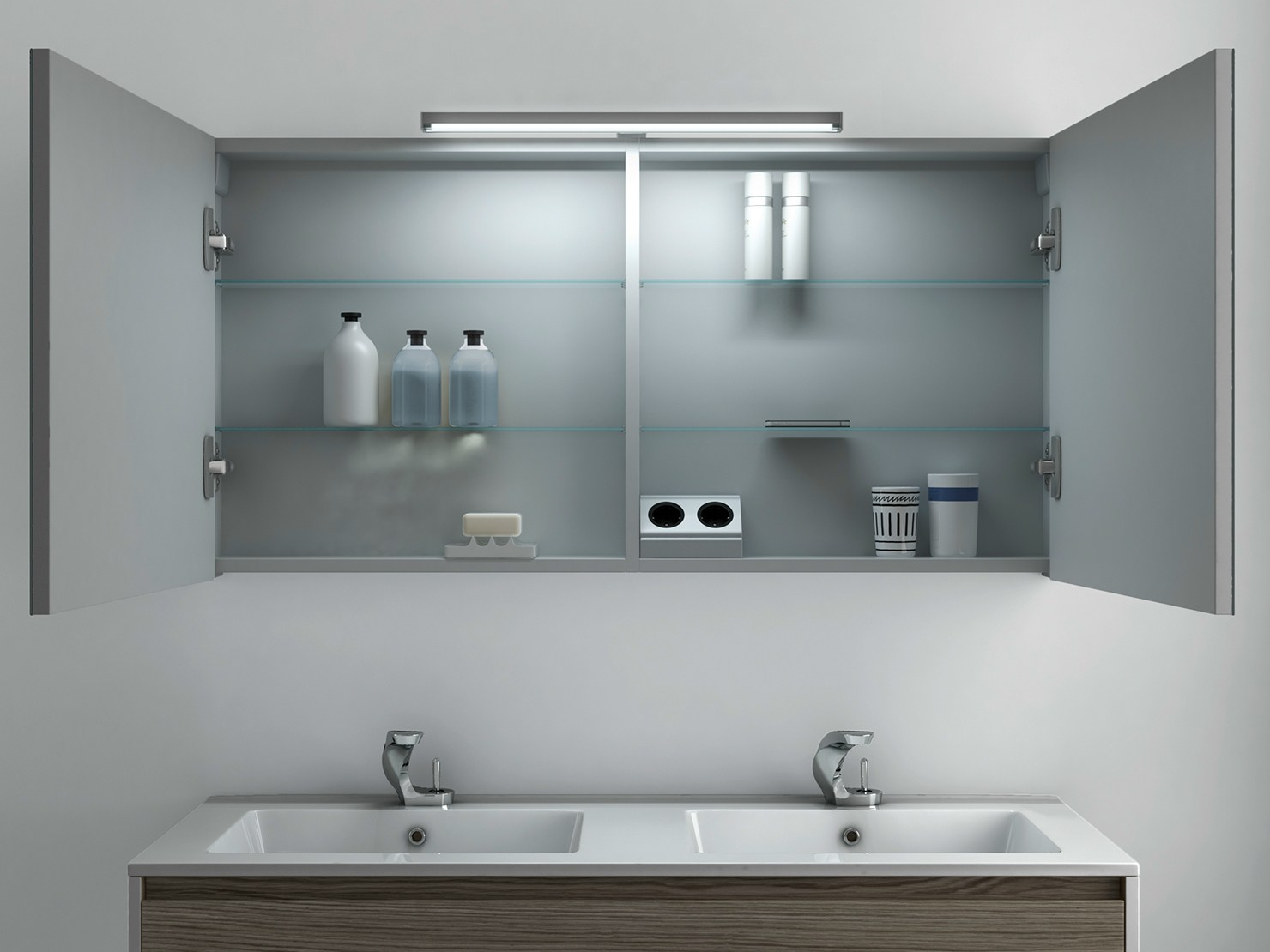 Strato espejo para ba o by inbani dise o inbani - Espejos de bano de diseno ...