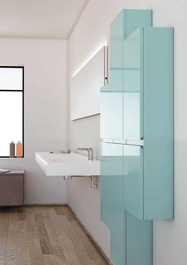 strato suspended bathroom cabinet by inbani design inbani