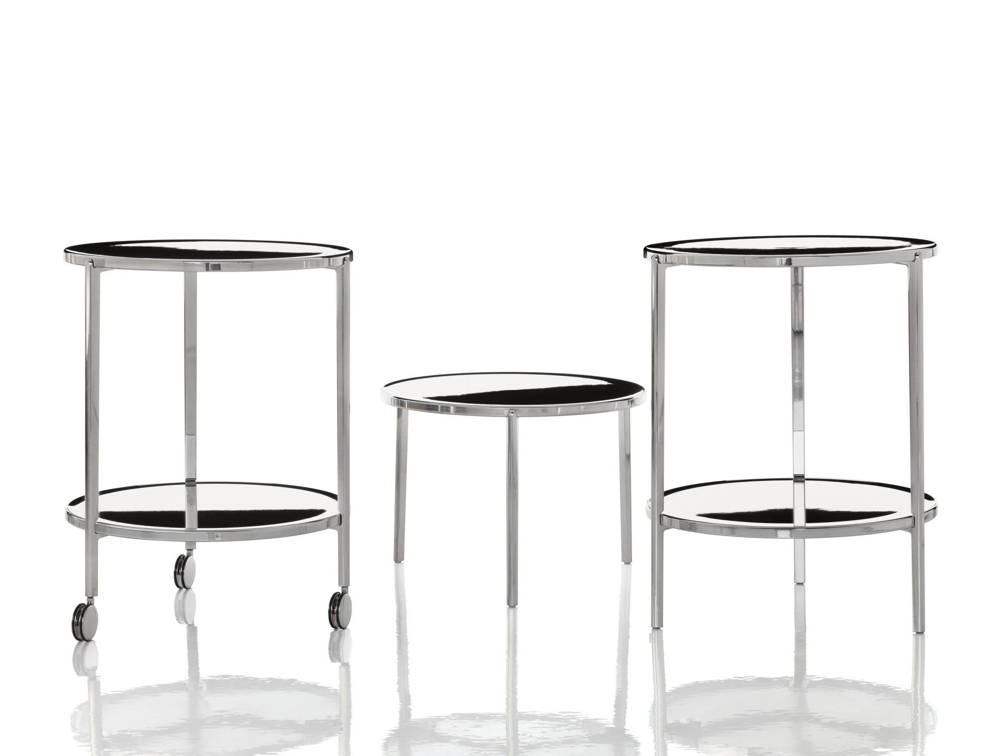 Tambour coffee table with casters by magis design ronan erwan bouroullec Coffee tables with casters