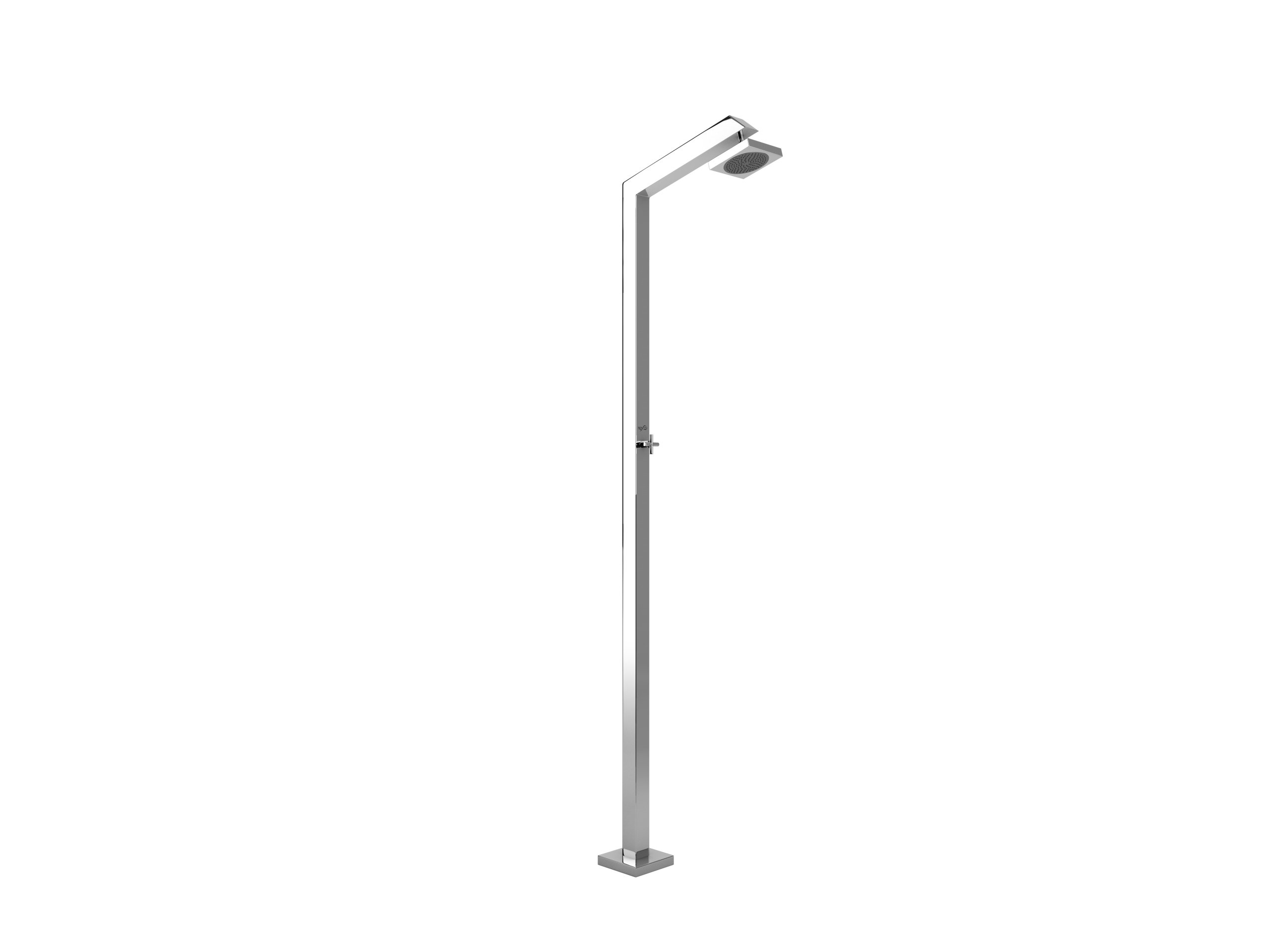 Stainless Steel Outdoor Shower TECNO CUBE Tecno Cube Collection By Inoxstyle