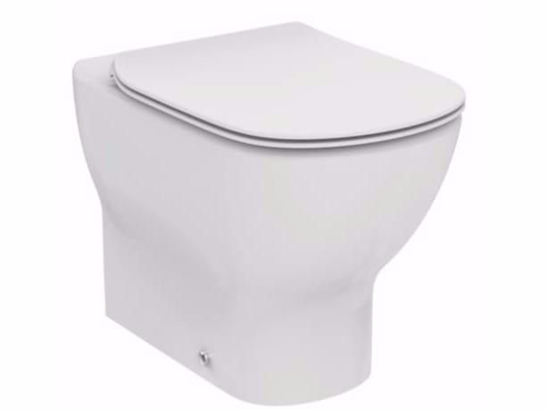 Wc in ceramica tesi t3532 collezione tesi by ideal for Tesi design ideal standard
