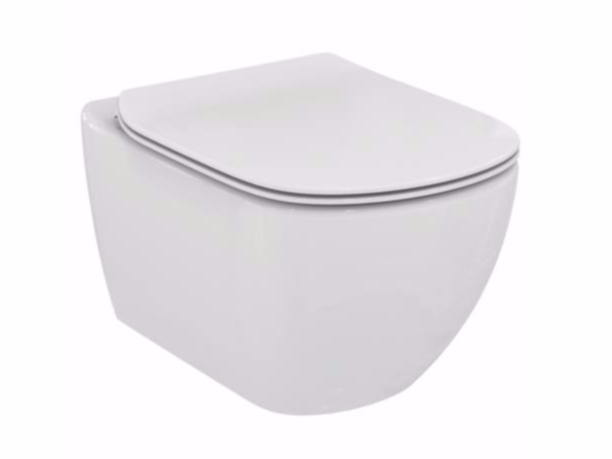 wc sospeso in ceramica tesi t3542 collezione tesi by