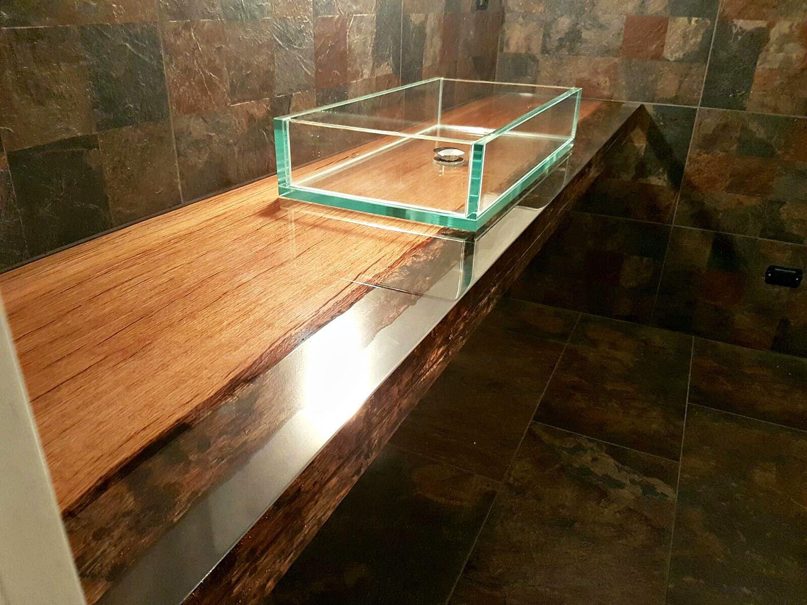 top bagno in legno e resina top bagno in legno e resina by azimut resine