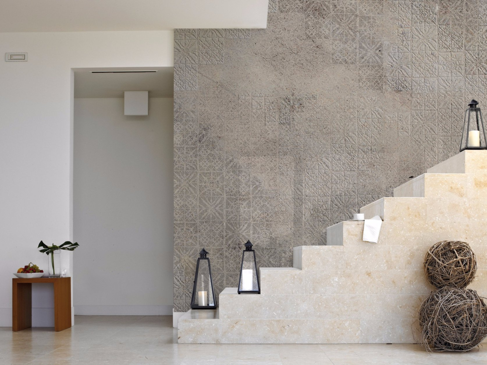 Stone effect panoramic wallpaper torino 06 pizzo l for Carta da parati moderna on line