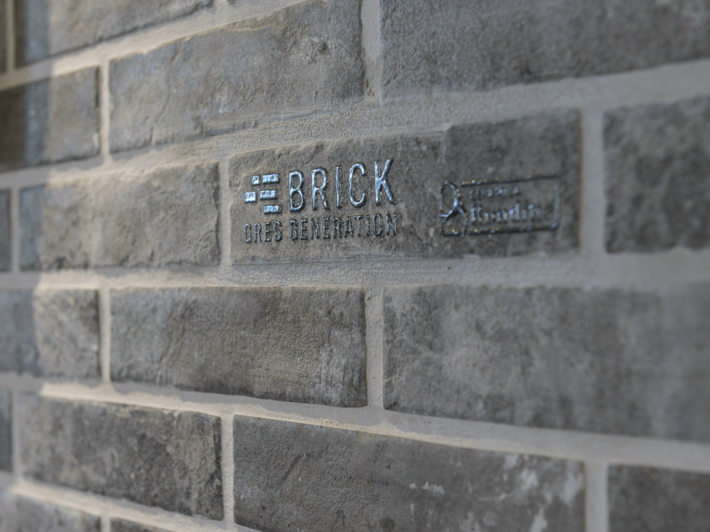 Grey Brick Effect Wall Tiles Porcelain Stoneware Wall