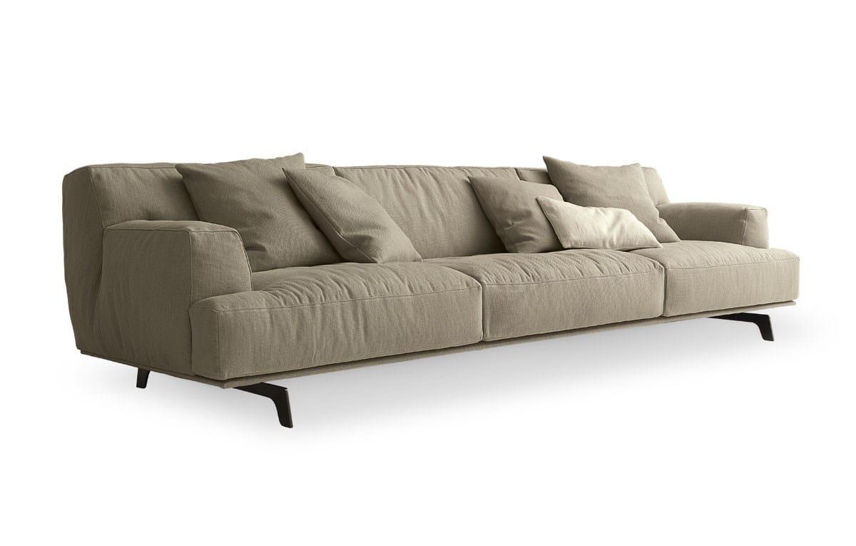 TRIBECA Fabric Sofa Tribeca Collection By Poliform Design