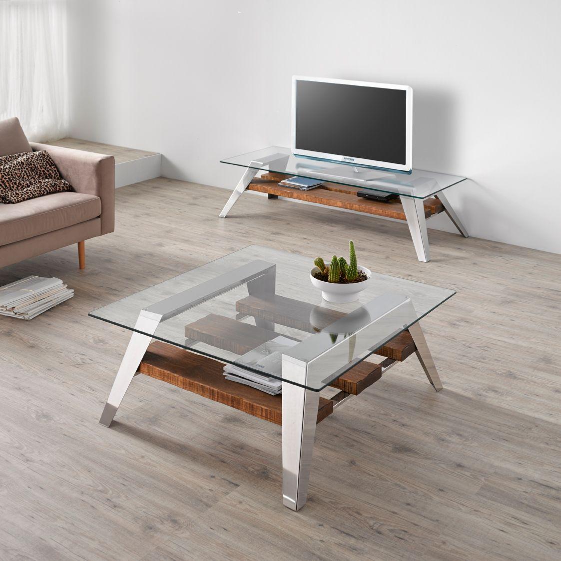 NORDIC TVMöbel Kollektion Nordic by Altinox Minimal Design -> Tv Lowboard Edelstahl