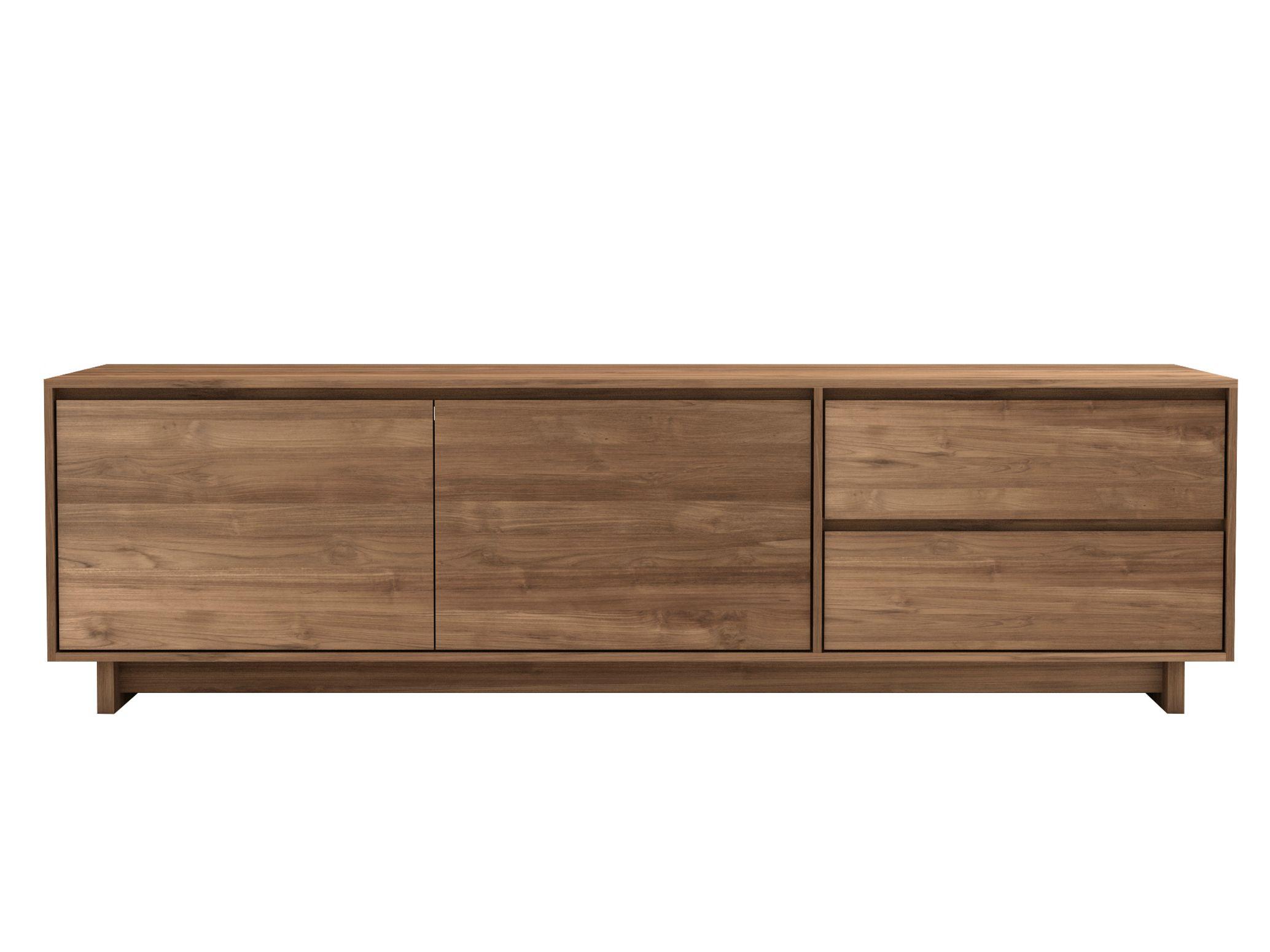 teak wave meuble tv collection teak wave by ethnicraft. Black Bedroom Furniture Sets. Home Design Ideas