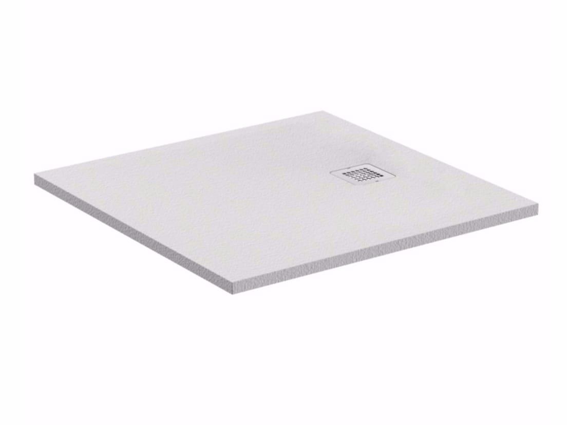 piatto doccia quadrato ultrapiatto ultra flat s k8216 collezione ultra flat s by ideal. Black Bedroom Furniture Sets. Home Design Ideas