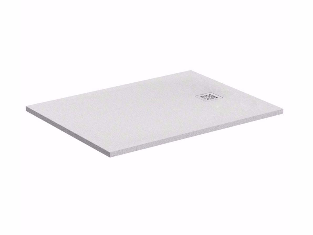 piatto doccia rettangolare ultrapiatto ultra flat s k8221 collezione ultra flat s by ideal. Black Bedroom Furniture Sets. Home Design Ideas