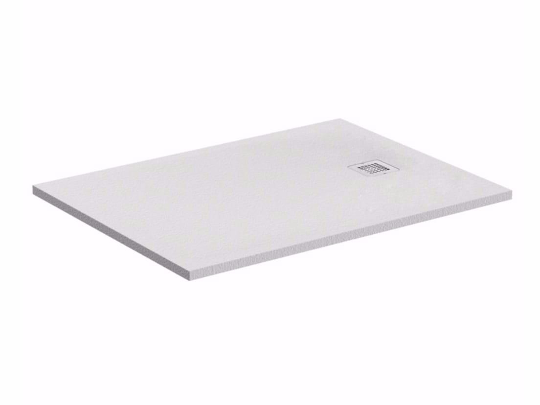 piatto doccia rettangolare ultrapiatto ultra flat s k8276 collezione ultra flat s by ideal. Black Bedroom Furniture Sets. Home Design Ideas