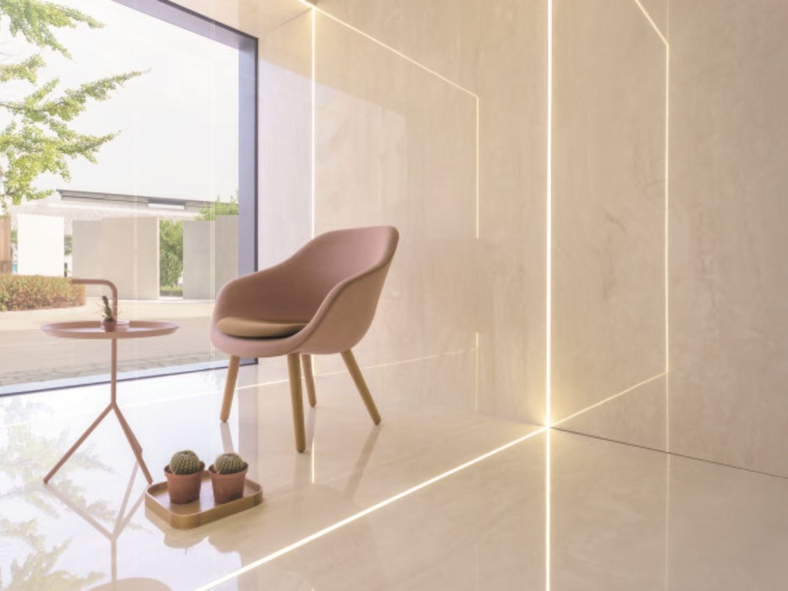 Pavimento/rivestimento effetto marmo ULTRA MARMI │Travertino ...