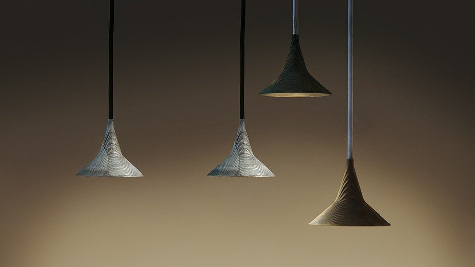 UNTERLINDEN Lampada a sospensione in ottone by Artemide design Herzog  u0026 de Meuron -> Lampada Artemide A Sospensione