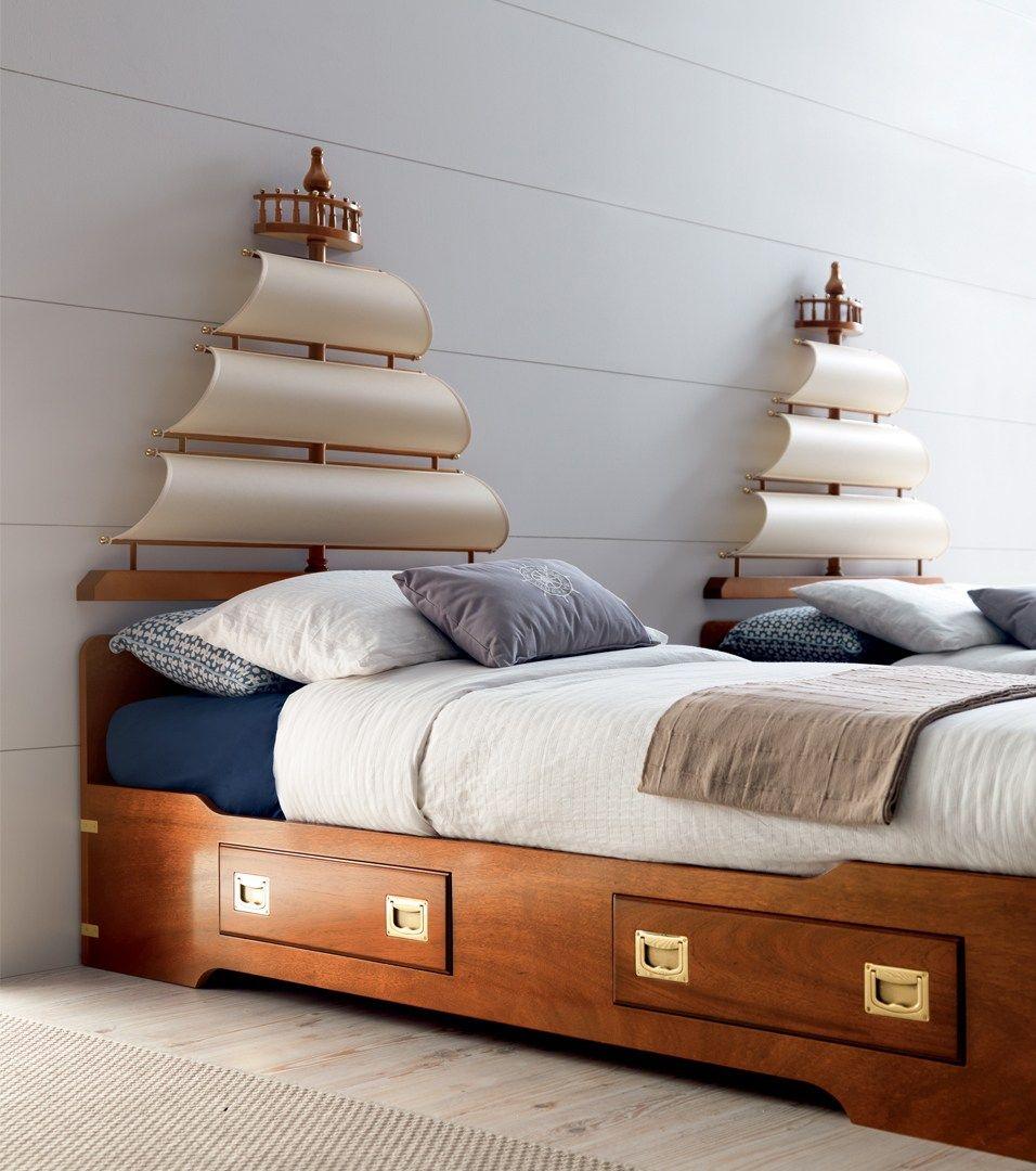 Vela testiera per letto singolo by caroti - Testiera letto in legno ...