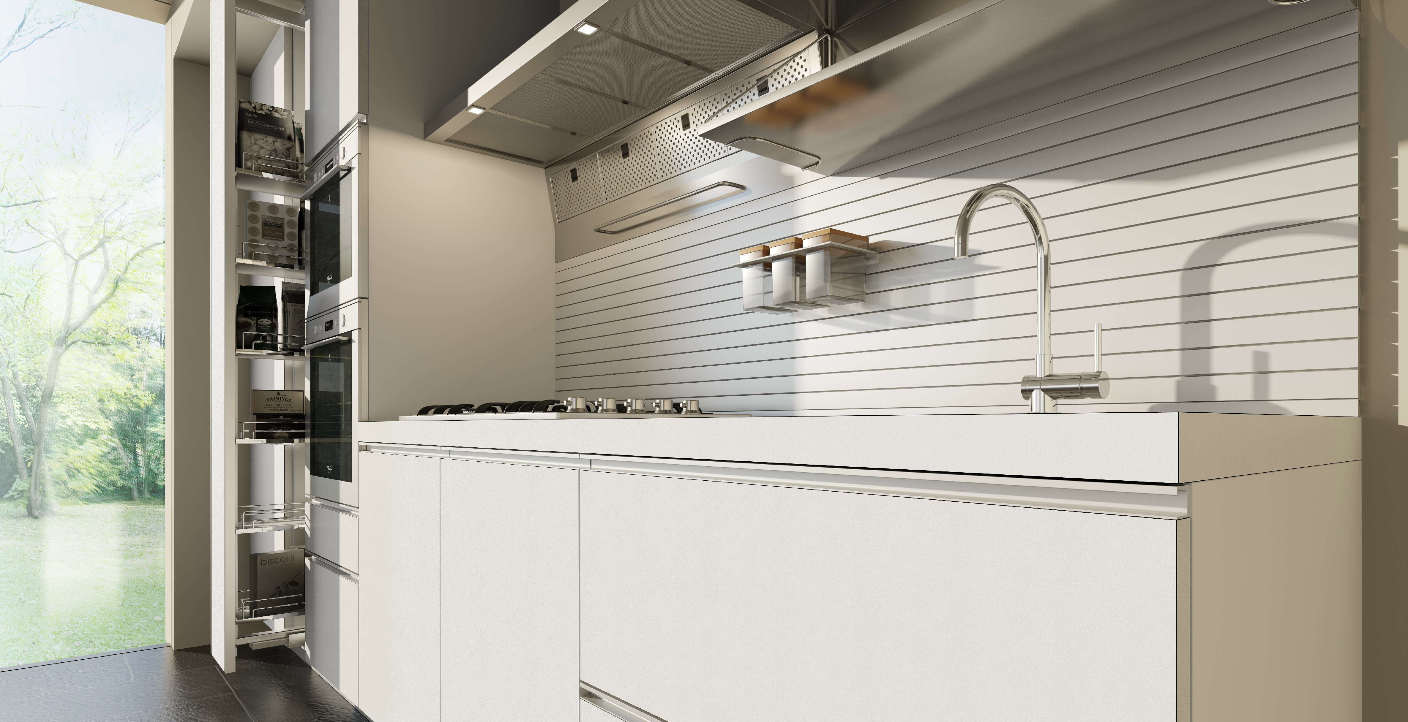 Linear Hpl Kitchen Without Handles Velve | Kitchen Without Handles, Kuchen  Deko
