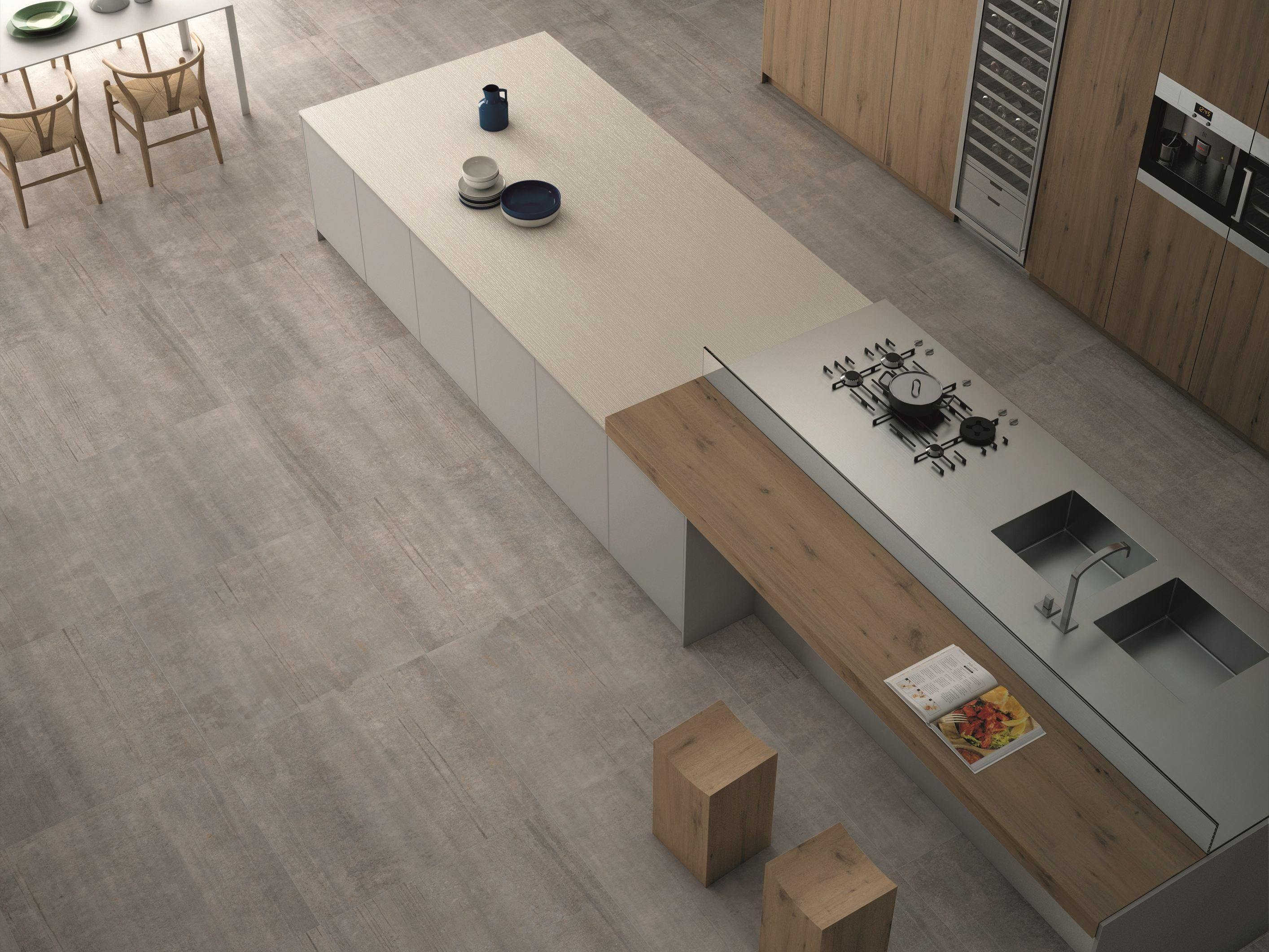 W solid itopker top cucina by inalco industrias - Top cucina gres ...