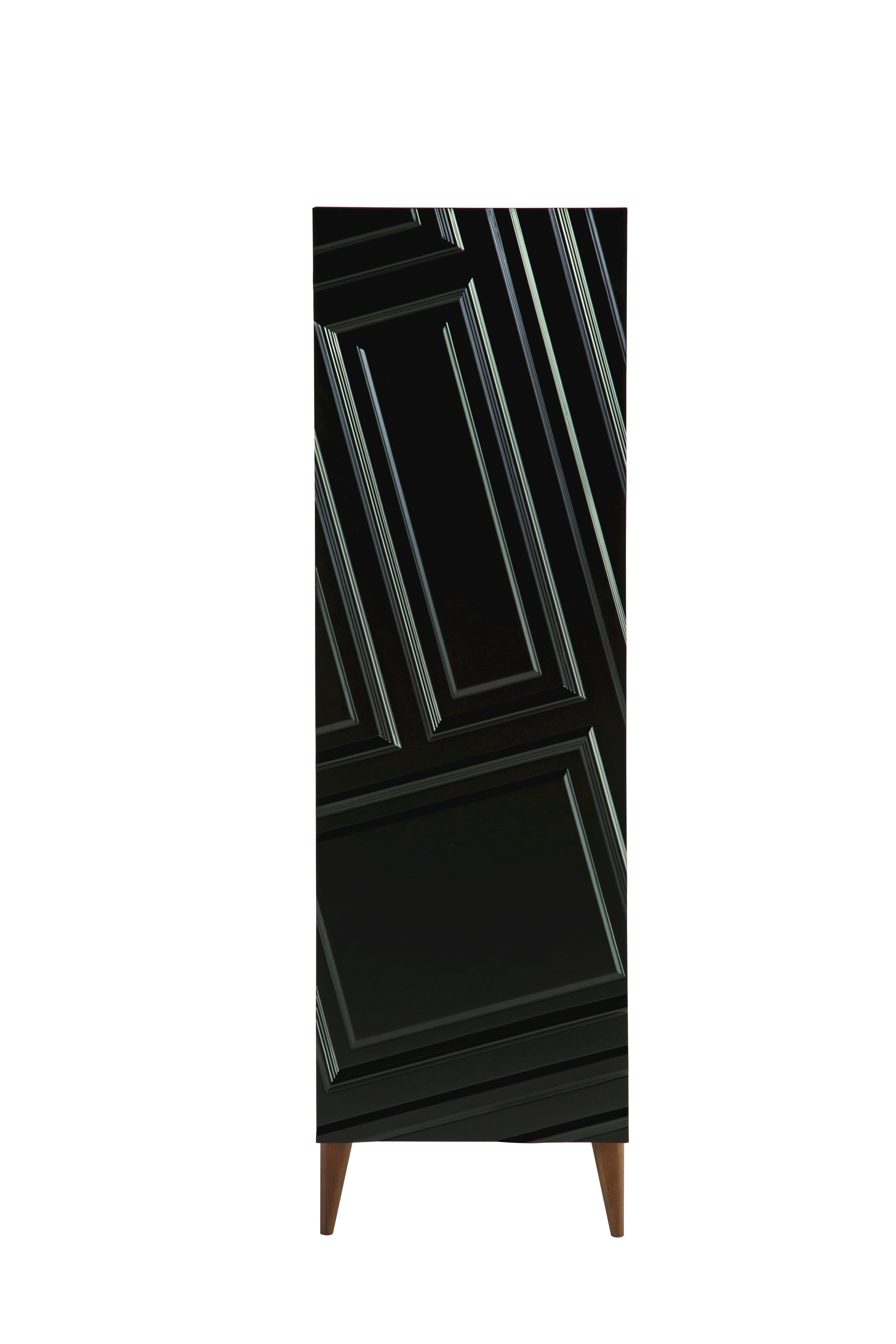 Astragale armoire avec 1 porte collection astragale by for Armoire roche bobois