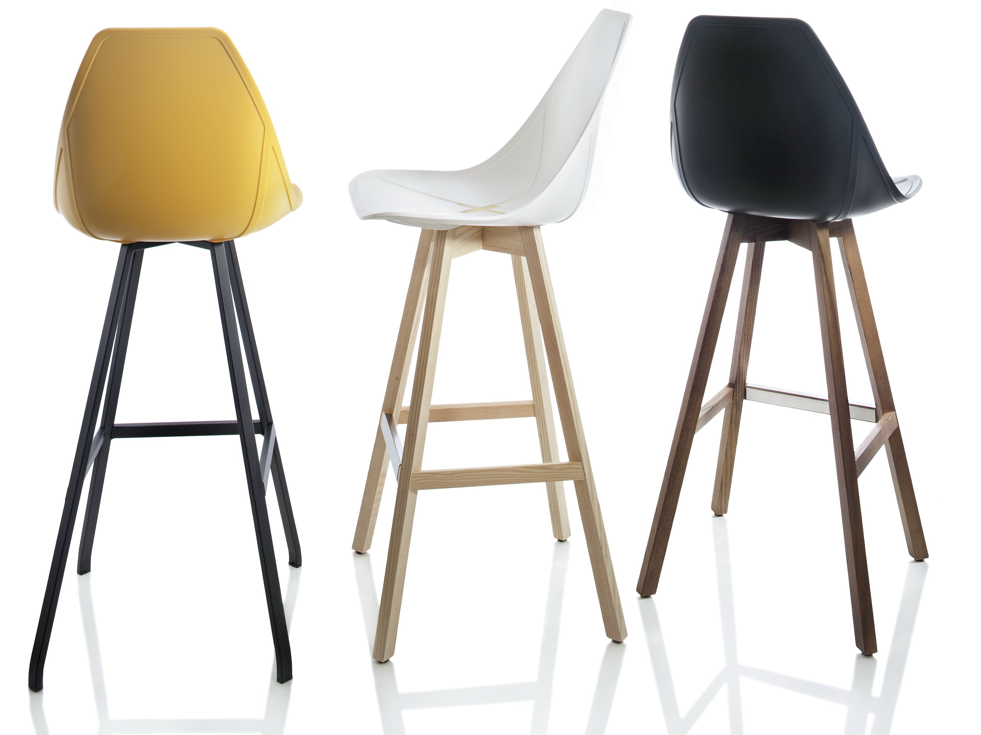 x stool counter stool x stool collection by alma design design mario mazzer. Black Bedroom Furniture Sets. Home Design Ideas