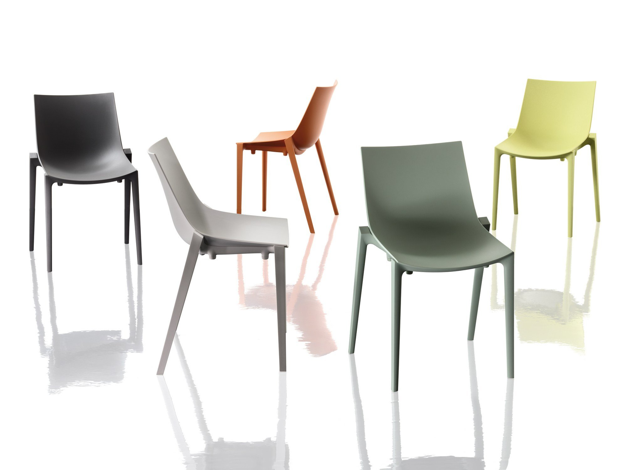 Basic chair design - Polypropylene Chair Zartan Basic By Magis Design Philippe Starck Eugeni Quitllet