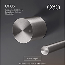Stainless steel washbasin tap OPUS by CEA