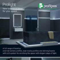 LED light profiles by Profilpas: new ideas for your space