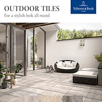 Outdoor Tiles Villeroy&Boch for a stylish look all around