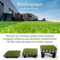 Roofingreen Nature: a new way to live your spaces