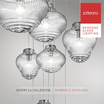 Zafferano-Bespoke Glass Lighting: new collections 2017