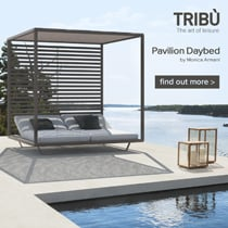 Tribù outdoor daybeds: the art of leisure