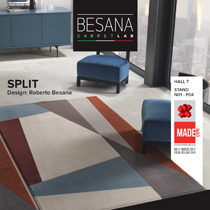 Besana carpets: endless custom made solutions