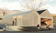 Ad Accumoli nasce Accupoli, il primo edificio italiano in compensato autoportante