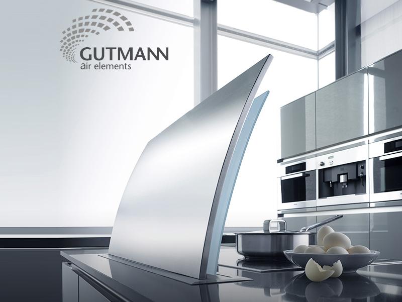 Cappa da cucina Downdraft Elica Gutmann Futura