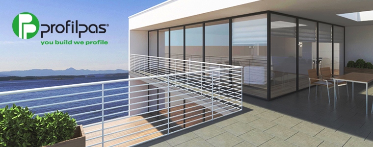 Profili per balconi e terrazze Profilpas: qualità e funzionalità