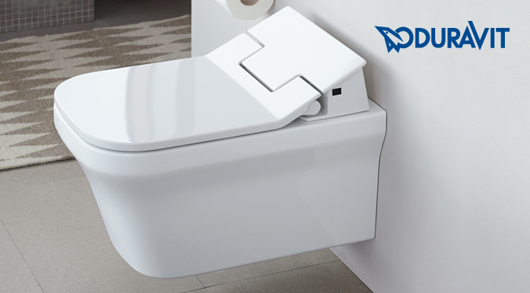 Sedile wc elettronico con bidet integrato sensowash slim for Wc con bidet