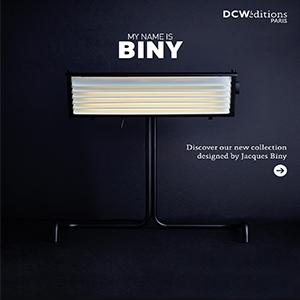 Nuova collezione di lampade Biny by DCW éditions