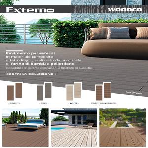 Externo, il pavimento in composito per esterni by Woodco