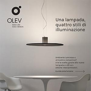 Una lampada, 4 stili di illuminazione: Andromeda by Olev