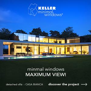 Finestre minimali Keller: scopri il progetto Casa Bianca